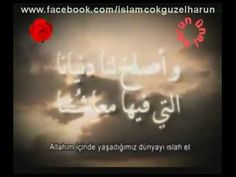 Mükemmel Arapça Duâ
