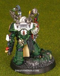 Warhammer 40k Salamanders, Warhammer 40000, Dark Angels, Warhammer 40k Miniatures, Mini Paintings, Space Marine, Marines, Raven, Christmas Ornaments