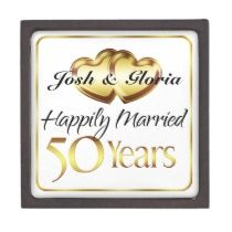 SweetLoveGifts Personalized 50th Wedding Anniversary Gifts
