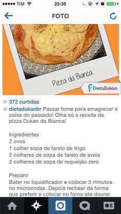 Pizza Dukan (Fase Ataque)  - Dieta Dukan