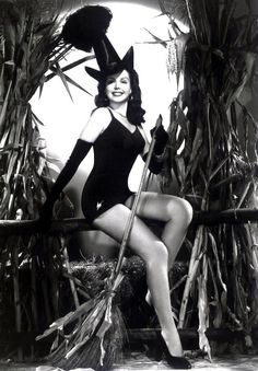 Ann Miller. (This hat sure made the rounds. It can be seen on Adele Jergens and Dusty Anderson also)