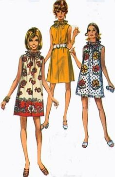 Vintage 70s Sewing Pattern Simplicity 8793 JIFFY by sandritocat, $8.00