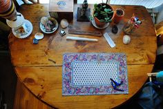 desk. by beyond the mountain, via Flickr