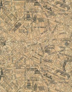 Timeless Treasures Paris Map