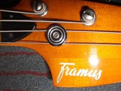 Bassgitarre FRAMUS 4 S. Nullbund Bj. 1972 in Thüringen - Bad Blankenburg | Musikinstrumente und Zubehör gebraucht kaufen | eBay Kleinanzeigen