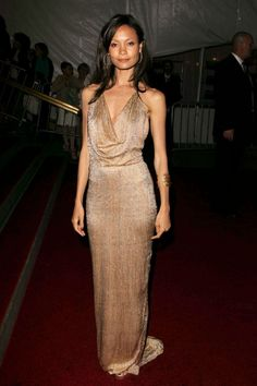 Thandie Newton In Gucci At The Met Ball 2006
