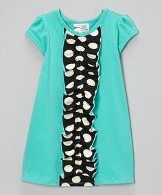 Take a look at this Mint Kylee Dress - Infant, Toddler & Girls on zulily today!