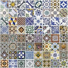 Textures Texture seamless | Patchwork tile texture seamless 16814 | Textures - ARCHITECTURE - TILES INTERIOR - Ornate tiles - Patchwork | Sketchuptexture
