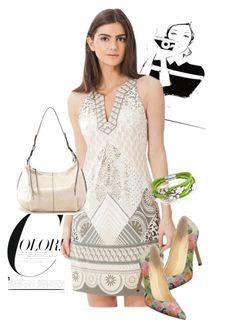 """dress"" by masayuki4499 on Polyvore featuring Hale Bob, HOBO, Ivanka Trump and Bling Jewelry"
