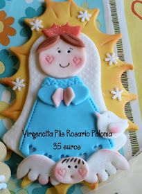 Virgencita plis 2(cookie cutters but use model to create 2d topper)