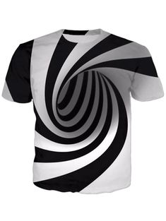 T-Shirts Hot Sale! Fashion Womens/Mens Hypnosis Funny Print Casual T-Shirt Print T Shirts, 3d T Shirts, Cheap T Shirts, Casual Shirts For Men, Casual Tops, Tshirts Custom, Casual Dressy, Polo Shirts, Dress Casual