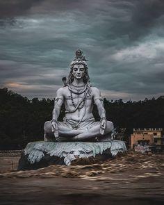 Lord Shiva Statute at Rishikesh Uttrakhand India Shiva Tandav, Shiva Parvati Images, Shiva Linga, Shiva Art, Rudra Shiva, Hanuman Images, Photos Of Lord Shiva, Lord Shiva Hd Images, Lord Hanuman Wallpapers
