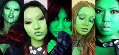 Go Green This Halloween with These DIY Gamora Makeup Looks « Halloween Ideas
