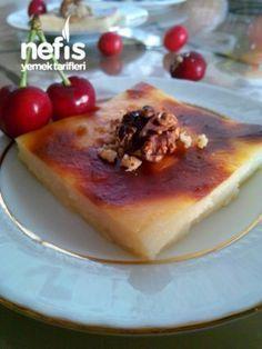 Süt Helvası (Bu Tada Bayılacaksınız) Bruschetta, Tart, French Toast, Pudding, Sweets, Meals, Cookies, Dinner, Breakfast
