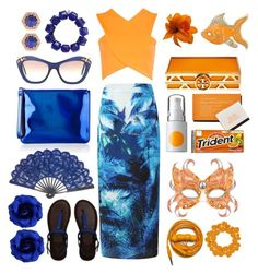 """""""Tropical maxi"""" by thestyleartisan ❤ liked on Polyvore featuring Minuet, Boohoo, Sperry, Henri Bendel, Marc by Marc Jacobs, Miu Miu, Abercrombie & Fitch, Kenneth Jay Lane, Urbanears and Somme Institute"""
