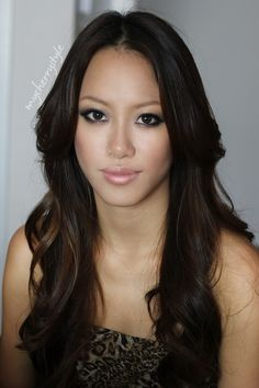 Asian makeup inspired by Japanese singer Amuro Namie