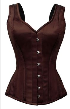 Brown corset jacket. I hope I can make a character who wears this, 'cause I totally want it! :D