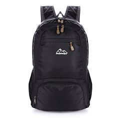 Doffey 25L Travel Lightweight Water Resistant Packable Cycling Hiking Backpack * This is an Amazon Affiliate link. Visit the image link more details.