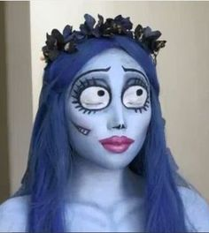Corpse Bride Makeup. Check out http://www.youtube.com/watch?v=-RYvxzkuHFo=related