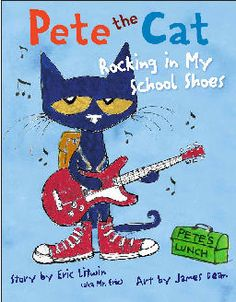 Author, Eric Litwin's website for Pete the Cat books