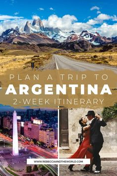 If you've only got 2 weeks in Argentina, check out this awesome Argentina itinerary (from someone who lived there). This 2-week itinerary will see you exploring cities, trekking on glaciers, walking under waterfalls and tasting wine in South America's most diverse country.   Things to do in Argentina   Visit Argentina   South America Travel   Places to Visit in Argentina   #Argentina #southamericatravel #buenosaires #patagonia #argentinatravel #argentinaitinerary #whattodoinargentina