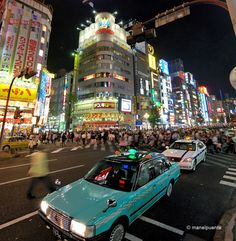 Tokyo: Feel the energy of the city at night!