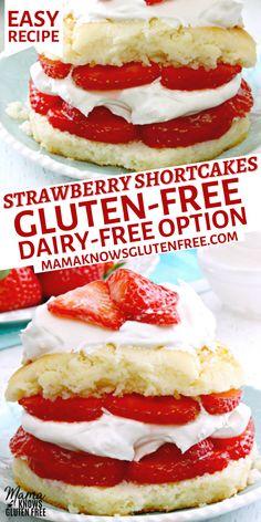 Gluten Free Deserts, Gluten Free Sweets, Gluten Free Cakes, Foods With Gluten, Gluten Free Baking, Vegan Gluten Free, Paleo, Dairy Free Options, Dairy Free Recipes