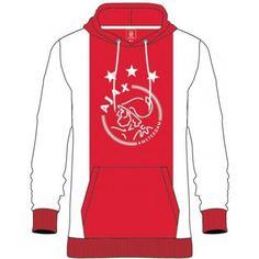 Ajax amsterdam Sweater hooded ajax w/r/w logo maat 116