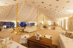 Love this marquee from The Arabian Tent company