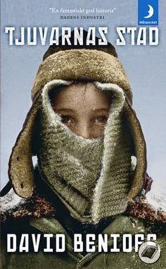 David Benioff: City of thieves | sweden cover | #davidbenioff #book #cover #bookcover #russia #worldwar #stpetersburg #winter