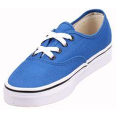 Vans VN-0QER6LW adult Authentic Snorkel Blue  Black via Polyvore Asics  Shoes 754df811e