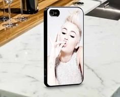 Miley Cyrus for iPhone and Samsung Case by mulailagi on Etsy