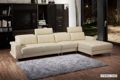 CASABLANCA Corner Sofa *Leather where it counts , Sofa & Ottoman, NZ's Largest Furniture Range with Guaranteed Lowest Prices: Bedroom Furnit...