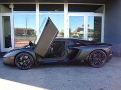 Lamborghini Aventador Matte Black Kanye West