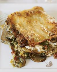 Celery Root and Mushroom Lasagna  ~When (I pray!!) G grows out of his dairy & wheat issues, this is the 1st thing I'm making! YUM!