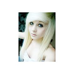 Cute-Emo-Girl-Wallpaper-4.jpg (300×400) ❤ liked on Polyvore featuring hair, people and emo girl