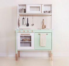 Awesome idea for ikea kitchen!