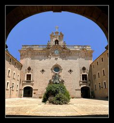 "I hitched across Mallorca and one of my rides said, ""you should go to Lluc."" So I did. I stayed in silence and wrote one of my favorite stories in this place. Monastery In Lluc - Mallorca"