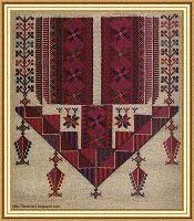 Palestinian Cross Stitch Patterns - Majida Awashreh - Picasa Albums Web