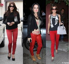 Red Jeans: One Look, Five Ways | Styloko | Women's fashion - Styloko.com