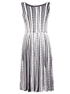 OSCAR DE LA RENTA pleated skirt dress