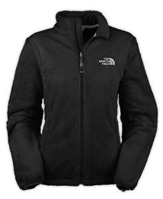 Northface Women's Osito Jacket in black, $99