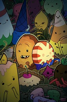 656 best Adventure time images on Pinterest   Adventure time     adventuretime  Candy Capers comic book covers are shown  oxboxer  Looks  like the alternate covers for Candy Capers are out  so I can finally show  this off