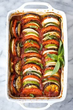 This Ratatouille recipe comes together quickly for a fresh weeknight dinner. Plus, it's suitable for gluten free, paleo and vegan diets!This Ratatouille recipe comes together quickly for a fresh weeknight dinner. Plus, it's suitable for glu Vegetarian Recipes Hearty, Vegetable Recipes, Paleo Recipes, Cooking Recipes, Vegan Vegetarian, Healthy Cheap Recipes, Lunch Recipes, Vegaterian Recipes, Cooking Pork