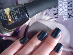 "Esmalte ""Deep Blue"" da Beauty Color #nailpolish"