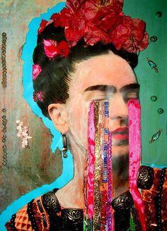 Frida Kahlo - Blind eyes & glitters