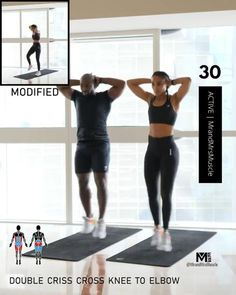 Full Body Hiit Workout, Gym Workout Videos, Gym Workout For Beginners, Fitness Workout For Women, Gym Workouts, Cardio Exercises At Home, Cardio Workout At Home, Woman Workout, Fat Burning Workout