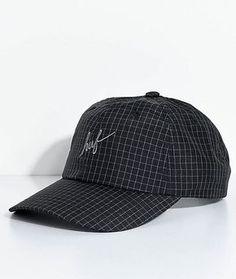 1d6c41178b745 HUF Flynn Black Print Six Panel Hat