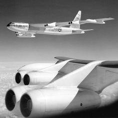 Boeing B-52D-70-BO Stratofortress ( from Doctor Strangelove maybe?).
