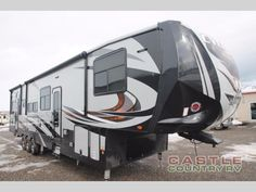 New 2017 Heartland Cyclone 4115 Toy Hauler Fifth Wheel at Castle Country RV | Logan, UT | #341967